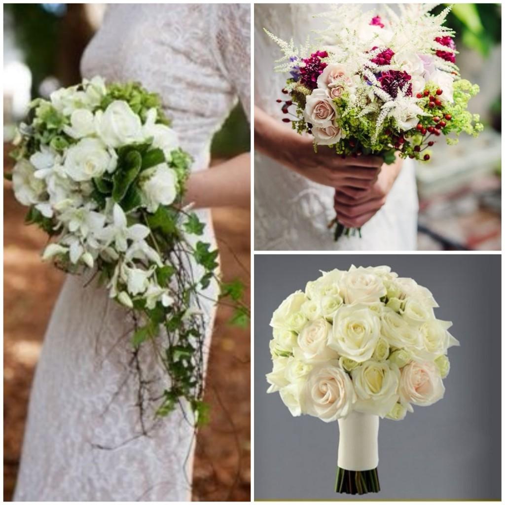 tipos de ramo de novia